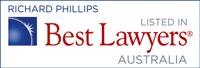 Best Lawyers in Australia - Richard Phillips